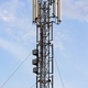 Cellular base station with panel antennas - PhotoDune Item for Sale