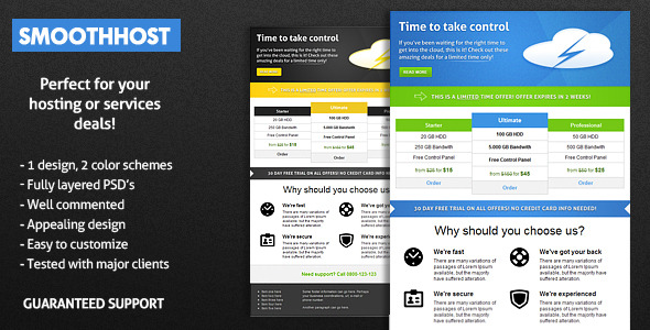 html email blast template - smoothhost e mail template by b4rr13 themeforest