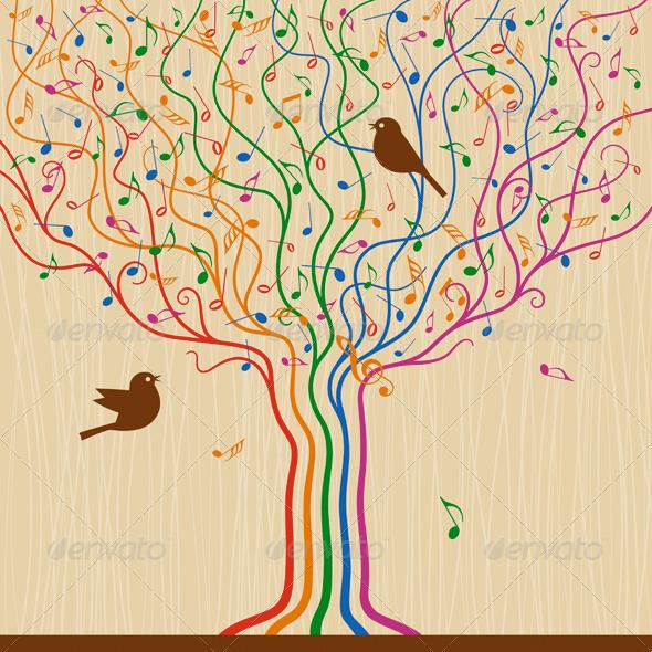 Musical Tree - Flowers & Plants Nature