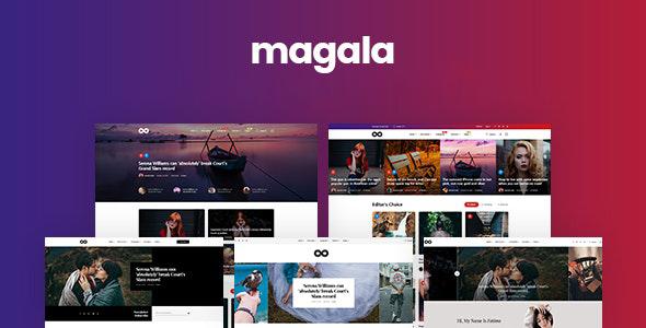 Magala - Magazine & Blog HTML 5 Template by RadiuzZ