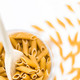 Dry pasta in a glass bowl - PhotoDune Item for Sale