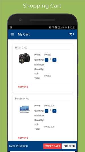 Opencart Android & iOS Mobile App Ionic 4