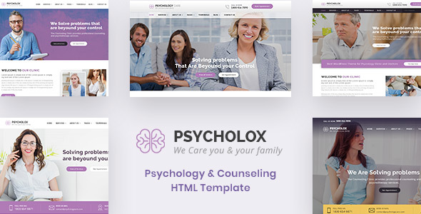 Special Psycholox : Psychology & Counselling HTML Template