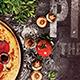 Pizza Restaurant Postcard