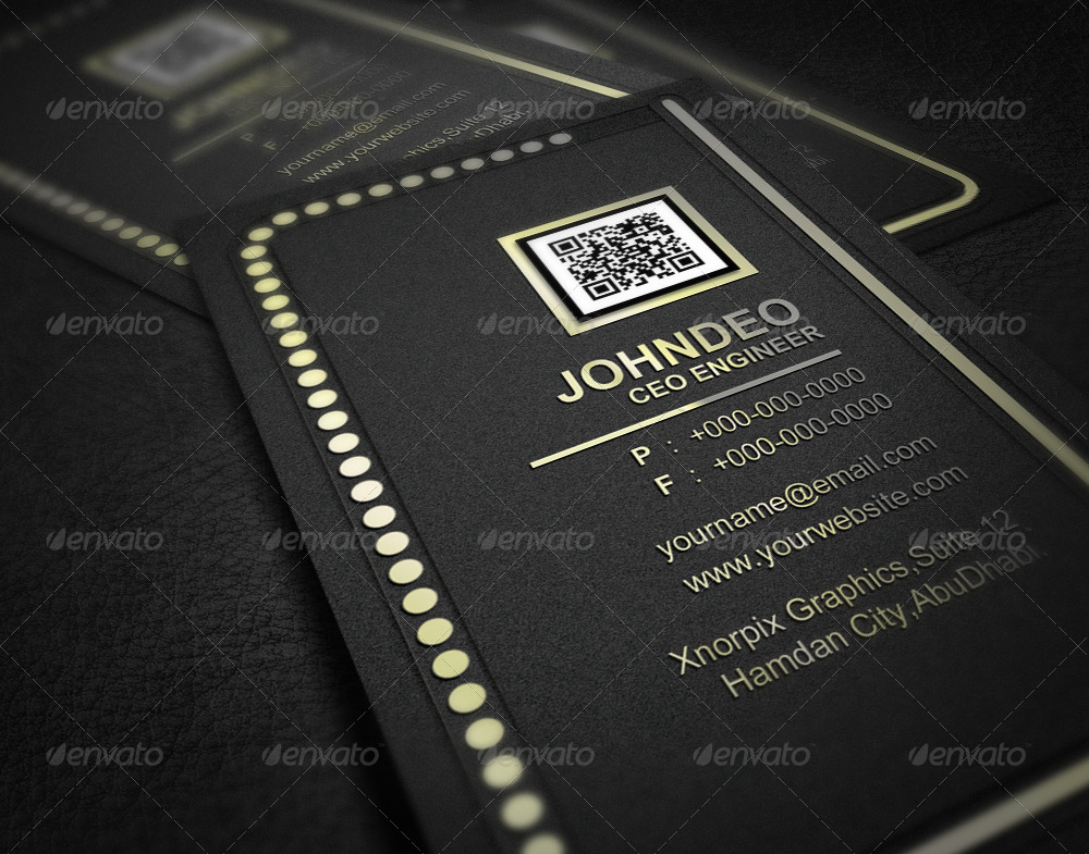VIP Business Card by -axnorpix | GraphicRiver