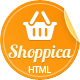 Shoppica - Premium HTML E-commerce Theme - ThemeForest Item for Sale