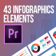 43 Infographics Elements (MOGRT) - VideoHive Item for Sale