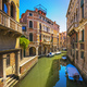 Venice cityscape, buildings, water canal and bridge. Italy - PhotoDune Item for Sale