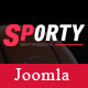 Sj Sporty - Flexible Sports News Joomla Template