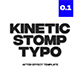 Kinetic Stomp Typogrpahy - VideoHive Item for Sale