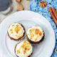 pumpkin pie spices walnuts banana cupcakes with salted caramel a - PhotoDune Item for Sale