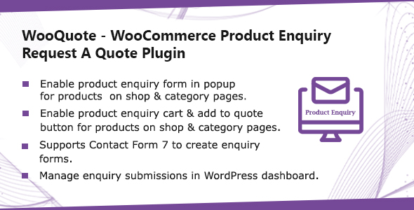 WooQuote - WooCommerce Product Enquiry & Request A Quote Plugin