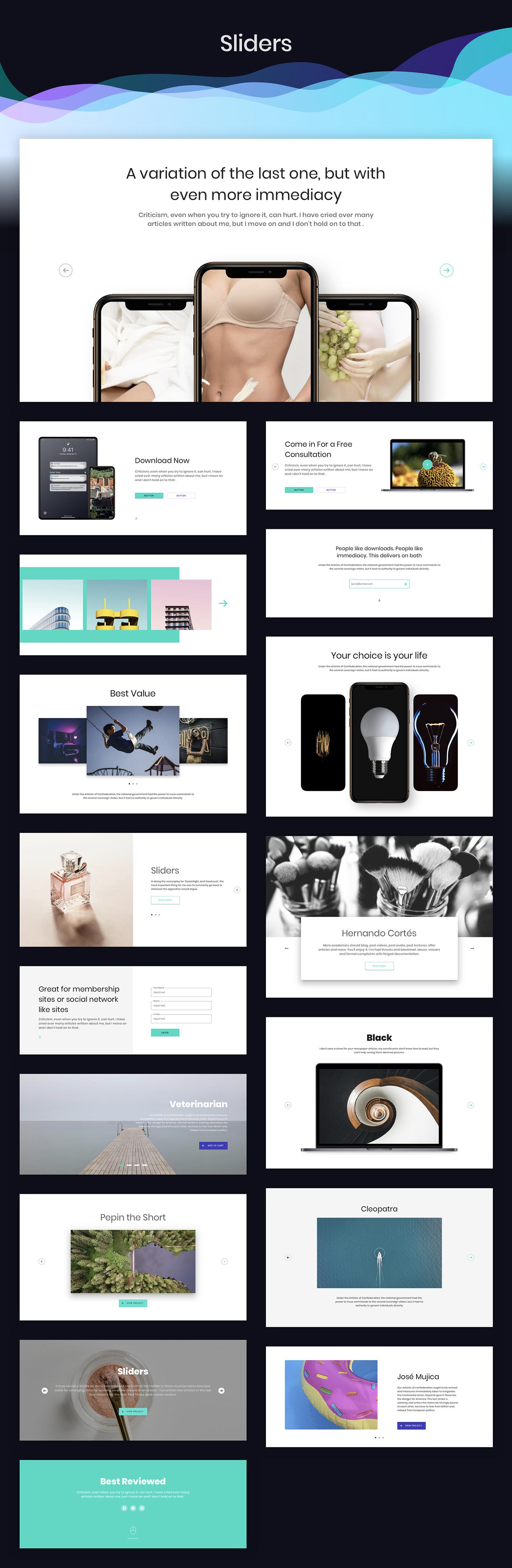 Ataman UI Kit - Templates For Website
