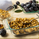 Breakfast fresh plum granola in the glass baking tray - PhotoDune Item for Sale