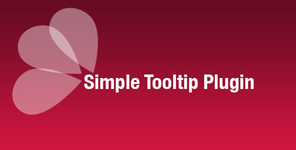 Simple Tooltip Plugin nulled free download