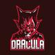 Dracula Esport Logo Template