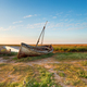 An old boat at Thornham Old Harbour - PhotoDune Item for Sale