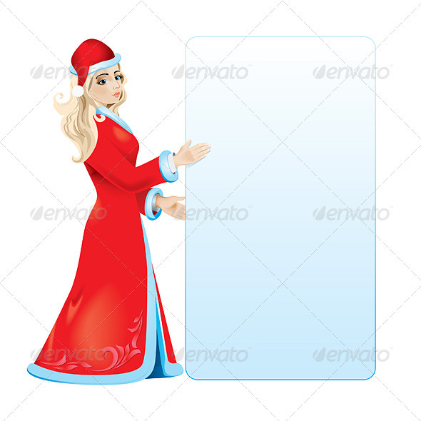 Snow maiden - Characters Vectors