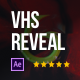 VHS Distortion Logo Reveal - VideoHive Item for Sale