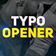 FCP Typo Opener - VideoHive Item for Sale