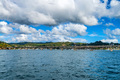 View of Samana bay and bridge, Dominican Republic - PhotoDune Item for Sale