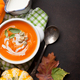 Autumn vegetarian pumpkin cream soup - PhotoDune Item for Sale