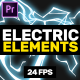 Electric Elements // Mogrt - VideoHive Item for Sale