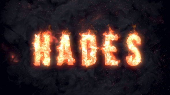 Hades - Animated Fire Typeface