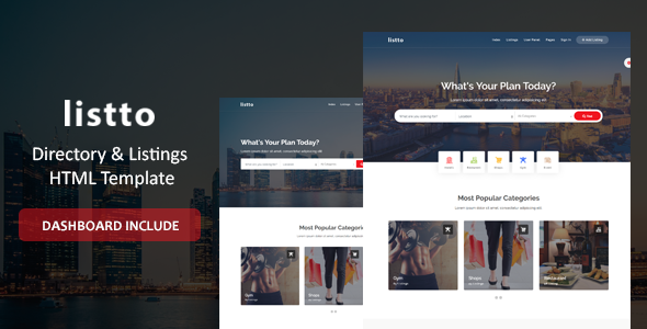 Listto - Directory Listing HTML Template by ThemeVessel