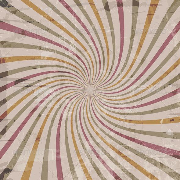 Grunge starburst - Backgrounds Decorative