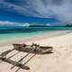 Port Orly sandy beach with palm trees, Espiritu Santo Island, Va - PhotoDune Item for Sale