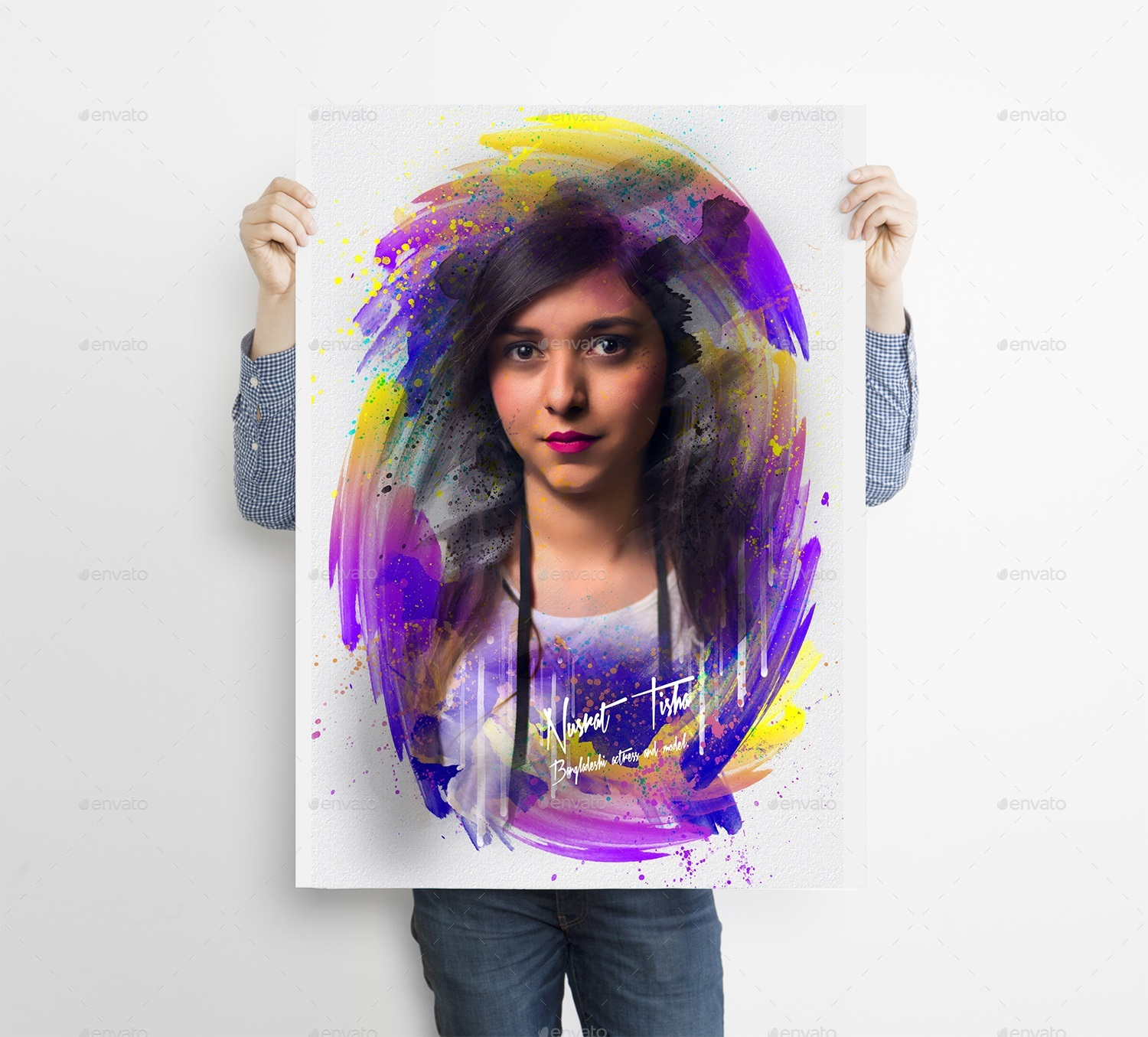Art Stick Photo Template