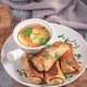 Rolled crepes with meat - PhotoDune Item for Sale