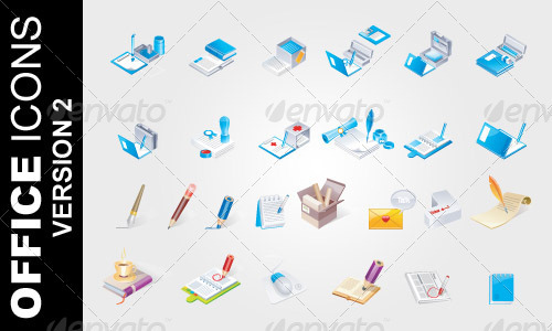 Office Icons Ver. 2 - Business Conceptual
