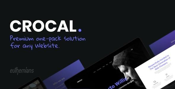 Crocal - Responsive Multi-Purpose WordPress Theme