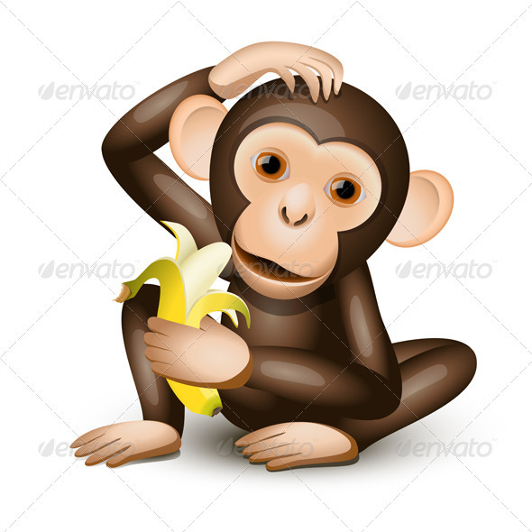 Little monkey - Animals Characters
