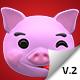 Emoji v2 - Pig Animation Kit - VideoHive Item for Sale