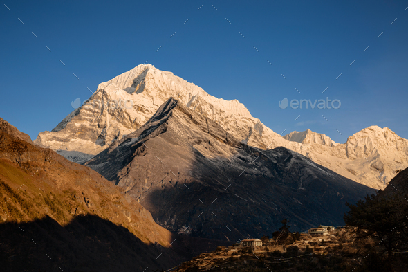 Nepal Mountains - Stock Photo - Images