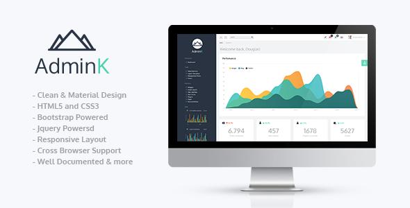 Marvelous AdminK | Bootstrap Admin Template