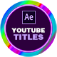 Social Media Titles for Premiere Pro | YOUTUBE | MOGRT - VideoHive Item for Sale