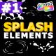 Liquid Splash Elements | FCPX - VideoHive Item for Sale