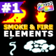 Smoke And Fire Elements Pack | FCPX - VideoHive Item for Sale