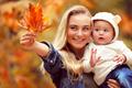 Having fun in autumn park - PhotoDune Item for Sale