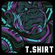 Tech Muscle T-Shirt Design