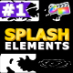 Splash Elements | FCPX - VideoHive Item for Sale