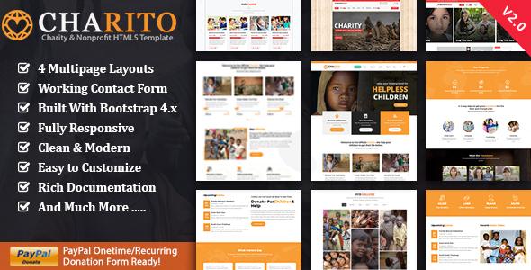 NonProfit Charity HTML by ThemeMascot