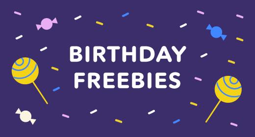 Birthday Freebies 2019