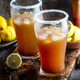 Mexican Michelada. Traditional spicy refreshing beer drink with lemon juice, salt - PhotoDune Item for Sale