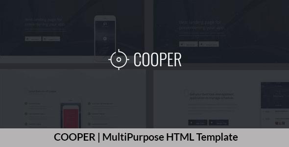 COOPER   MultiPurpose HTML Template