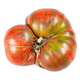 fresh large tomato with green veins isolated - PhotoDune Item for Sale